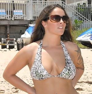 Hot MILF Beach Porn Pictures