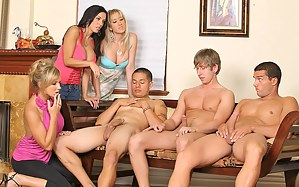 Hot MILF Group Sex Porn Pictures