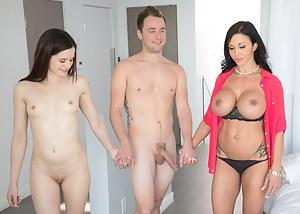 Hot MILF FFM Porn Pictures