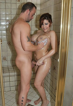 Hot milf shower porn