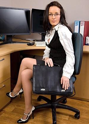 Hot MILF Uniform Porn Pictures