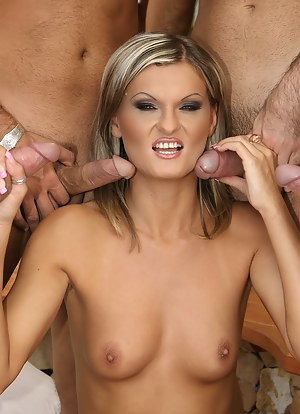 Hot MILF Gangbang Porn Pictures